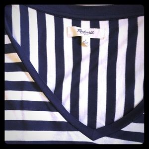 Madewell Stripped long sleeve top